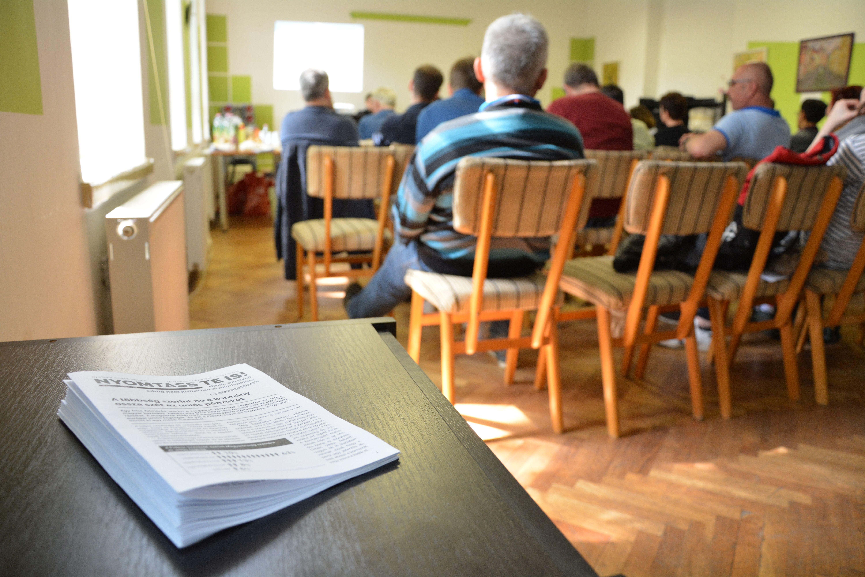 A demokratikus helyi nyilvánosságról rendezett konferenciát a Nyomtass te is! mozgalom Szegeden