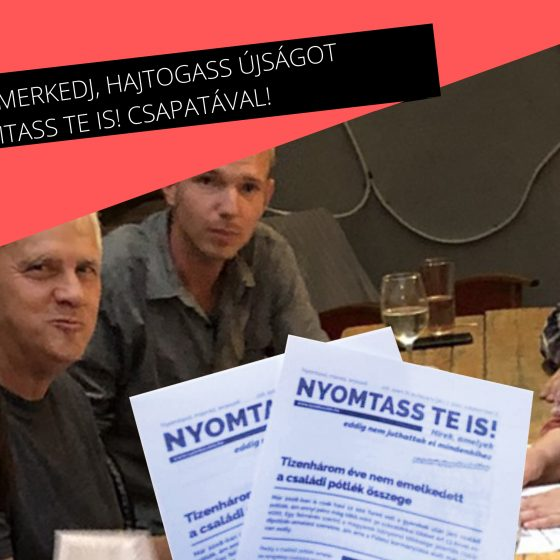 Közéleti origami – kedden újra Nyomtass te is!-találkozó